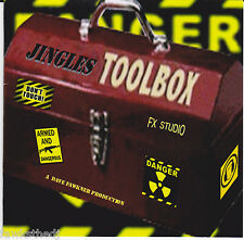 PRO AUDIO IMAGING-SWEEPERS-SAMPLES-SFX-THE JINGLES TOOLBOX CD-RADIO/STUDIO/DJ/TV