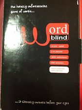 Barnes and Noble Word Blind Game