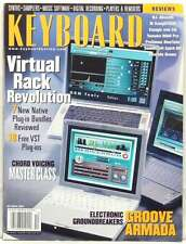 KEYBOARD MAGAZINE VIRTUAL REVOLUTION PLUG INS GROOVE ARMADA YAMAHA VERY RARE '01