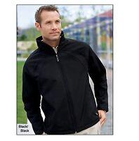PING Golf MENS M L XL 2XL 4XL SOFT Shell Full zip Jacket Jumper Coat BLACK $199