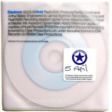 NEW ORDER CD ELECTRONIC Vivid UK Promo Special Translucent Slv. + Disc UNPLAYED