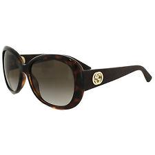 Gucci Oval 100% UV Sunglasses for Women