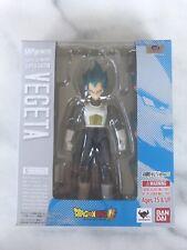 S.H. Figuarts Dragon Ball Z Super Saiyan God Super Saiyan Blue Vegeta US Seller