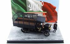 Fiat 18 bl 200 ° anniversary carabinieri + 2 figures 1/43 rio