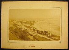 Photo c 1900 Vue Générale du Havre la plage Photographie ancienne