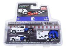 2014 DODGE RAM 1500 & 2006 CHARGER HELLCAT MOPAR 1:64 GREENLIGHT 51061D