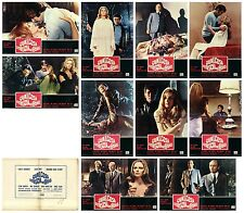 QUALCOSA STRISCIA NEL BUIO FOTOBUSTE 10 PZ. THRILLER LUCIA BOSÉ 1970 LOBBY CARD