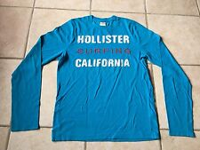 t.shirt hollister manches longues taille L