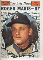TOPPS AMERICAN LEAGUE ALL STAR ROGER MARIS #576 (MR)