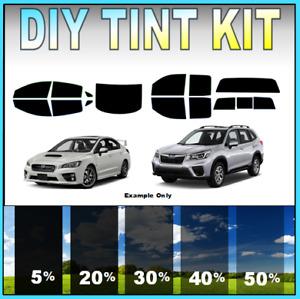 DIY PreCut Window Tint Kit- Fits ANY SUBARU 2000-2021 ANY Shades ALL ANY Windows