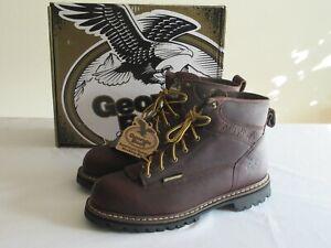 Georgia Boot Logger Men's Size 12W Waterproof Work Boot Steel Toe - GBOT053 NEW