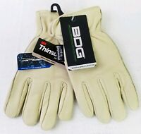 Bob Dale 20-9-288 Gloves Small Grain Cowhide Thinsulate Driver Water Resistant