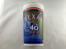 Texas Rangers 40th Anniversary Plastic Cup