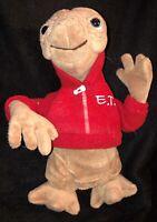 ET Plush Alien Universal Studios Extra Terrestrial Stuffed Toy Red Hoodie