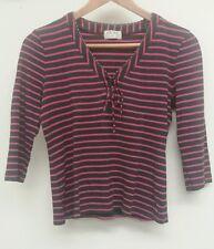 Kaliko Grey Top Size 12 Stripy  <J2937