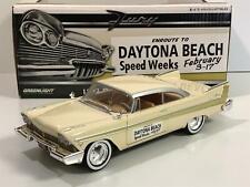 1957 Plymouth Fury Daytona Beach Speed Week 1:24 Scale Greenlight 18257