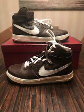 Nike Air Force One 1 Hi High Retro QS Chocolate Sail 743546 200 Mens 8