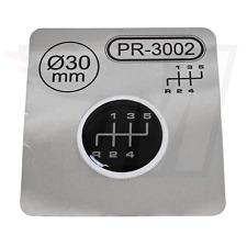 1x Schalthebel Silikon Aufkleber für Schaltknauf 3D Sticker | ∅=30mm | PR-3002