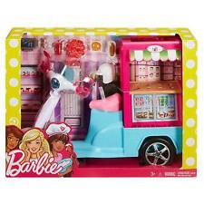 BARBIE SCOOTER STREET FOOD FHR08 MATTEL -nuovo-italia