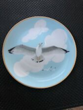Vintage Cape Cod Maine Seagull Plate by Down East Crafts 7.5 inches