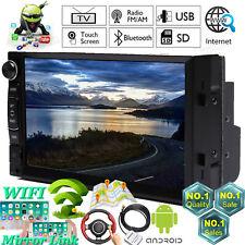 "7""2Din Car Stereo Android SatNav GPS Navigation Bluetooth For VW Golf Skoda Seat"
