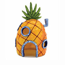 Spongebob Squarepants Pineapple House Fish Tank Aquarium Ornament Home 13cm NEW