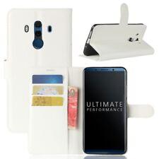 Cartera De Bolsillo Premium Blanco para Huawei Mate 10 Pro Estuche Cubierta