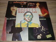 SUZI QUATRO - HELEN SCHNEIDER - BUGGLES - ALICE - 5 VINYL LP´S DER 1980er JAHRE