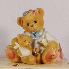 Cherished Teddies Membership Doctor Bear W/ Patient Dr Makebetter In Orig Box