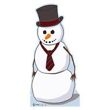 SNOWMAN Top Hat Christmas Lifesize CARDBOARD CUTOUT Standup Standee Poster Prop