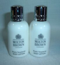 2 Molton Brown Blissful Templetree Body Lotion 1.7 oz ea. Travel New 50 ml