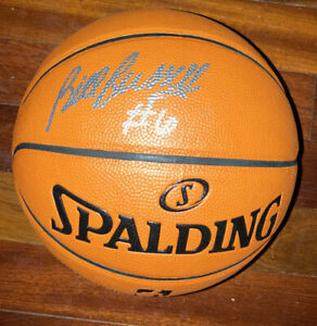 Bill Russell Signed Autographed Spalding Basketball Psa Coa Box boston celtics