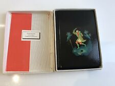 More details for vintage russian hand painted leather notebook/journal - boxed superb condition