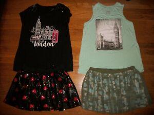 Justice Girls Tee /& Skirt Set