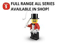 Lego minifigures circus ringmaster series 2 (8684) unopened new factory sealed