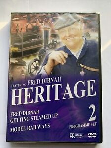 Dvd Heritage Featuring Fred Dibnah Model Railways