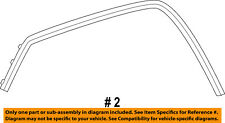 Jeep CHRYSLER OEM-Front Fender Flare Wheel Well Molding Right 1MP38RXFAE