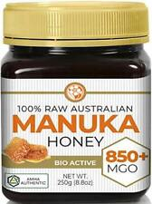 Raw Manuka Honey MGO 850+ (NPA 20+) Medicinal Strength Antibacterial Activity