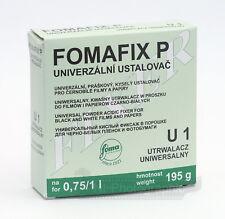 Fomafix Foma Fomapan P U1 Black & White Powder Fixer (to Make 1L) Free Postage