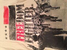 Freedom Fighter Military Profound Aesthetic Company Live Free Shirt. Sz. Medium