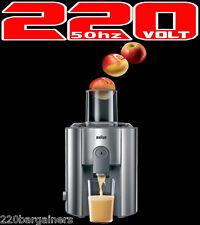 Braun J700 220 Volt 1000W Heavy Duty Juice Extractor Juicer 220V (NON-USA)