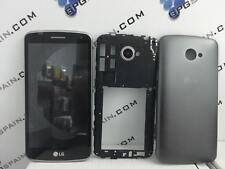 Repuesto Pantalla LCD Display CON MARCO+TAPA+CARCASA para LG K5 Negra MRW24H