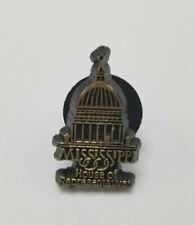Vintage Mississippi House of Representatives Lapel Pin Political Pin Souvenir