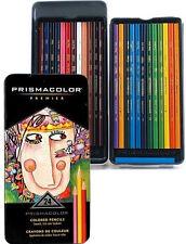 PRISMACOLOR PREMIER 24 Soft Core Colored Pencils PROFESSIONAL ARTIST SET
