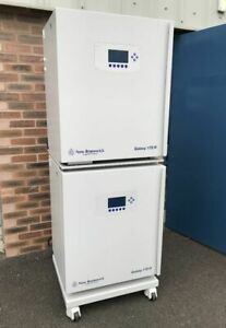 Eppendorff New Brunswick Galaxy 170R CO2 Incubators, frames, casters (Pair of)