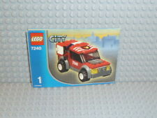 LEGO® City Bauanleitung 7240 Fire Station Heft 1 ungelocht instruction B1420