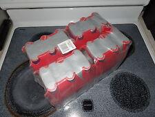 RARE Full Case Four 6-Packs of Coca Cola M5 Caviar Asia Aluminum Bottles