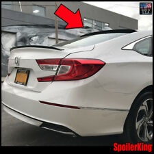 Rear Roof Spoiler Window Wing (Fits: Honda Accord 2018-on 4dr) 284R SpoilerKing