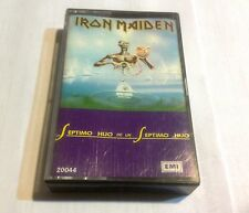 Iron maiden cassette seventh son Of  a seventh son 1988 EMI Argentina