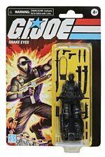 "New ListingGi Joe Hasbro Retro Collection Snake Eyes 3.75"" Walmart Exclusive Action Figure"